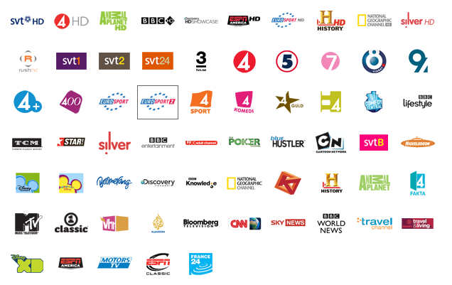 Canal Digital Channels